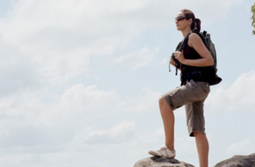 Hiker370 (photo credit: Thinkstock)