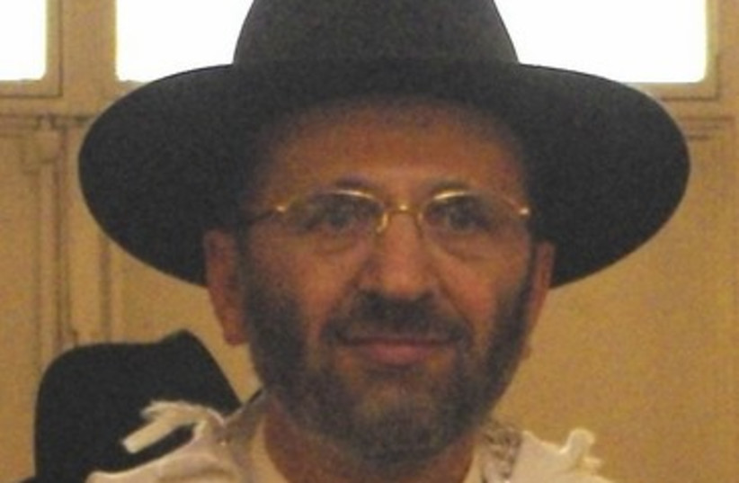 French Chief Rabbi Gilles Bernheim 370 (photo credit: Wikimedia Commons)