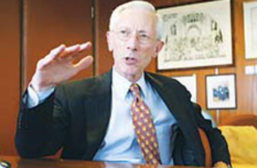 Stanley Fischer Good 88 248 (photo credit: Ariel Jerozolimski)