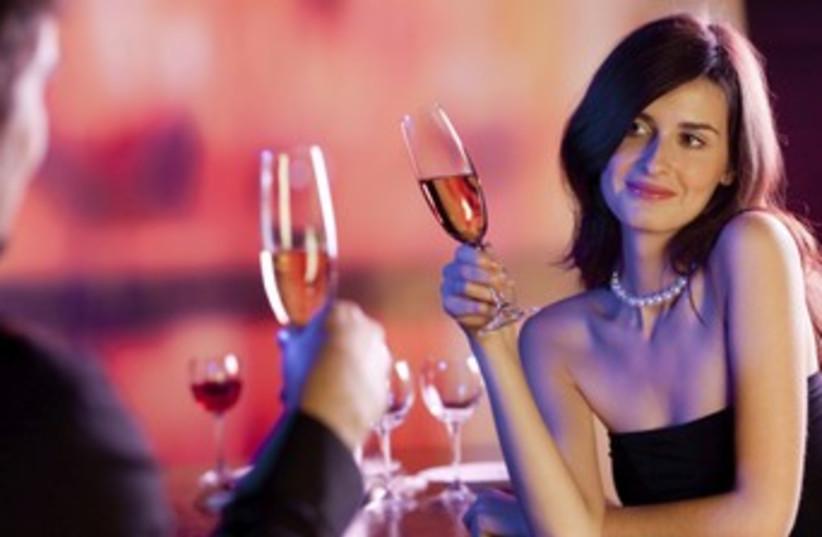 A man and woman on a date 370 (photo credit: Thinkstock/Imagebank)