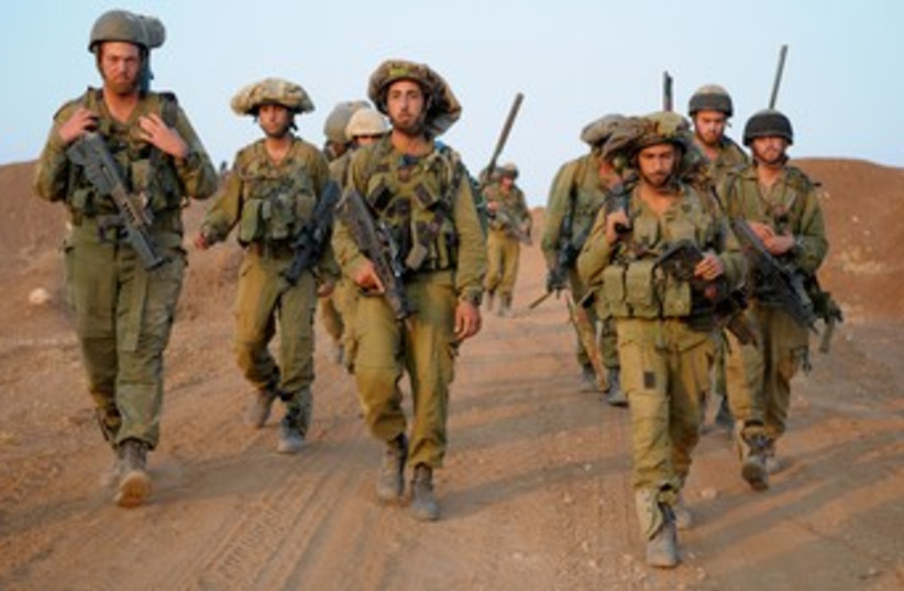 Givati drill (photo credit: IDF Spokesman's Office)