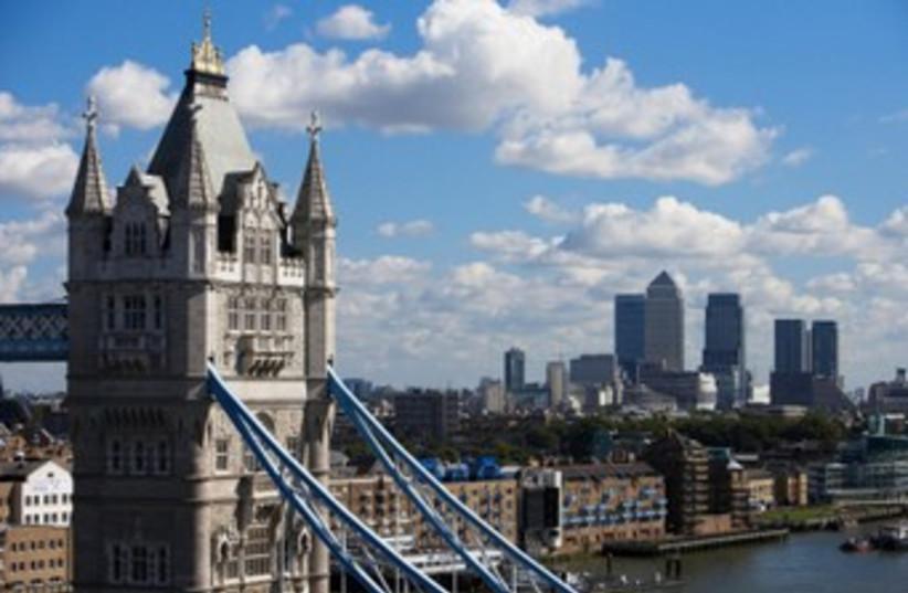 London skyline 370 (photo credit: Thinkstock/Imagebank)