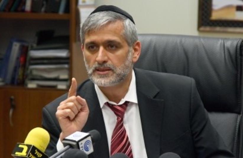 Interior Minister Eli Yishai 370 (photo credit: Marc Israel Sellem)