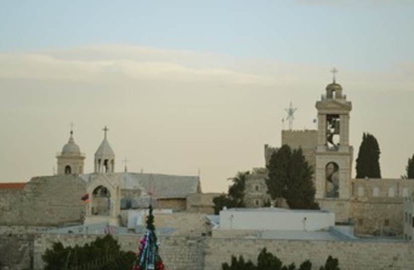 Church of the Nativity in Bethlehem 370 (photo credit: Michael Omer-Man)