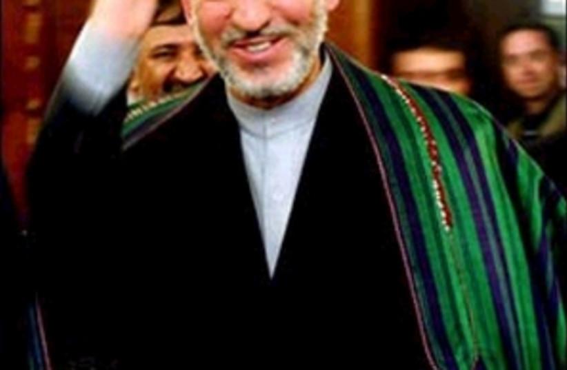 hamid karzai 298 (photo credit: AP)
