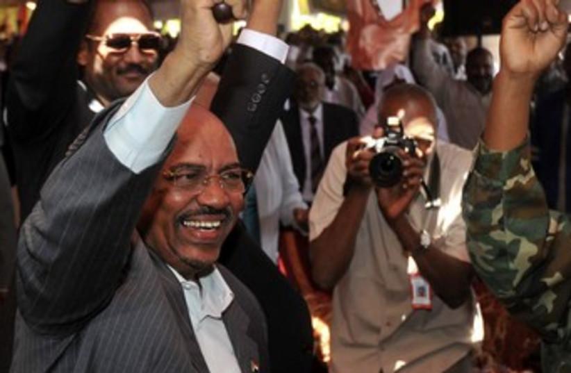 Sudan's President Omar Hassan al-Bashir 370 (photo credit: REUTERS)