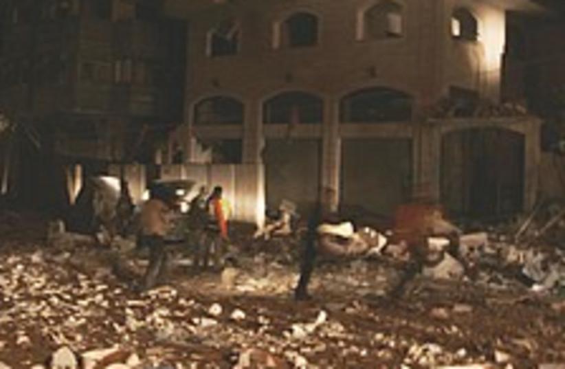 Gaza rubble 224.88 (photo credit: AP)