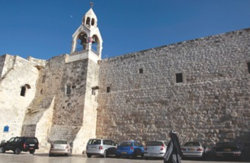CHURCH of the Nativity in Bethlehem 370 (photo credit: REUTERS)
