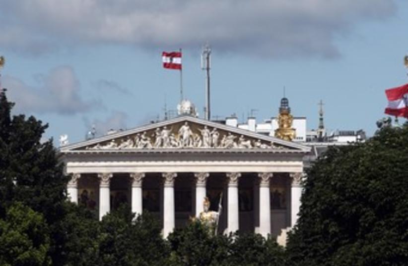 Austrian Parliament 370 (photo credit: REUTERS)