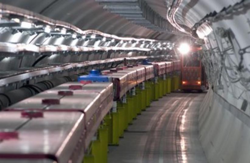 CERN particle research center near Geneva 370 (photo credit: REUTERS)