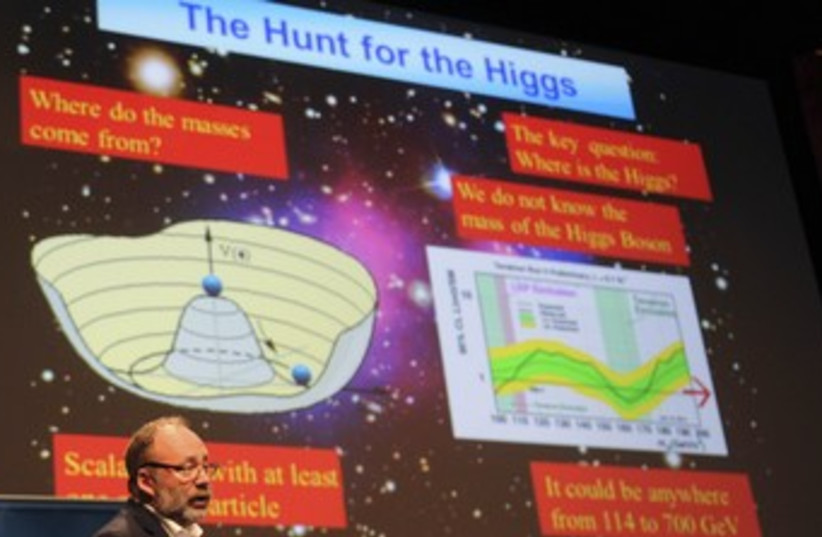 Higgs particle breakdown 370 (photo credit: REUTERS)