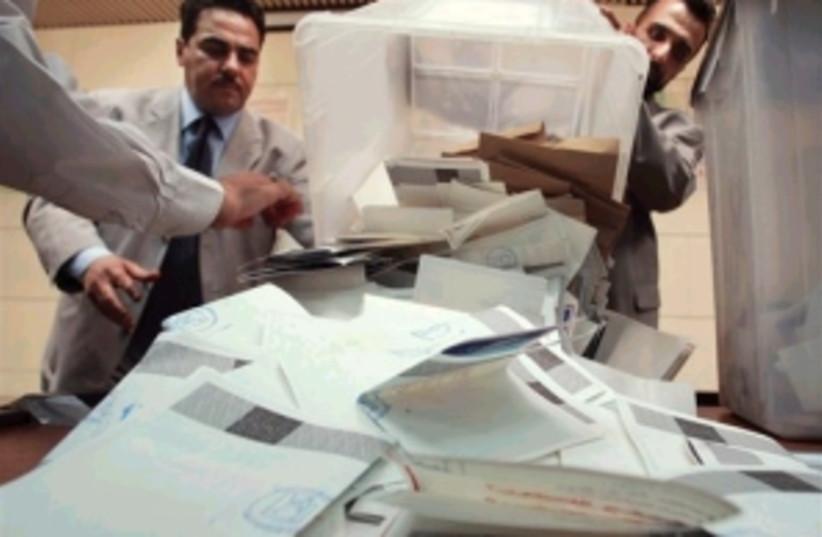 iraqi vote 298.88 (photo credit: AP [file])