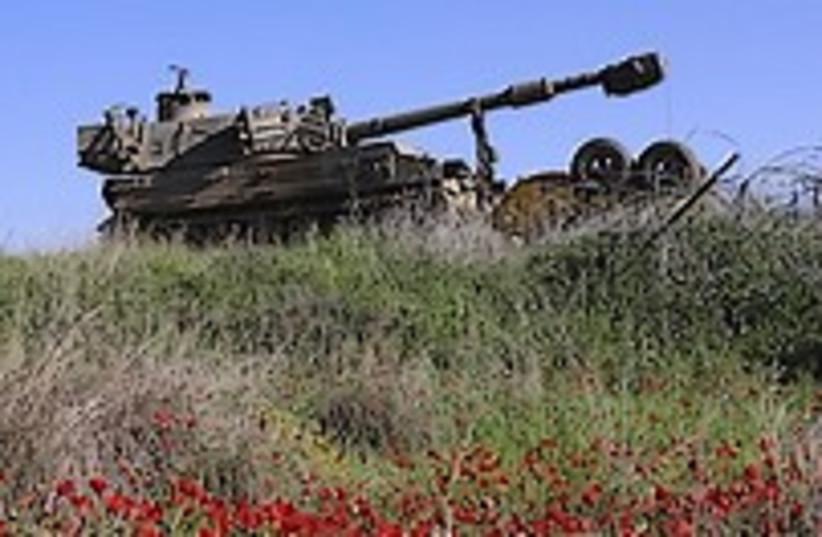 IDF tank beauty 224.88 (photo credit: AP)