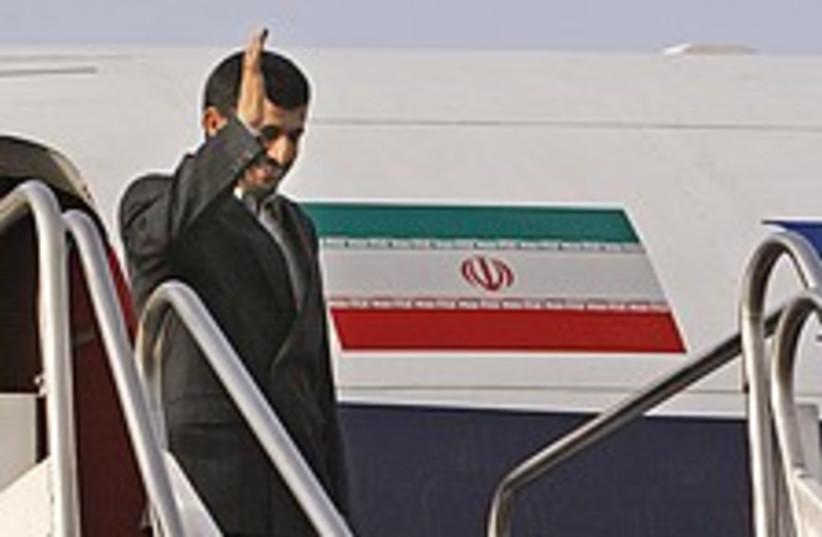 Ahmadinejad Iraq 224.88 (photo credit: AP)