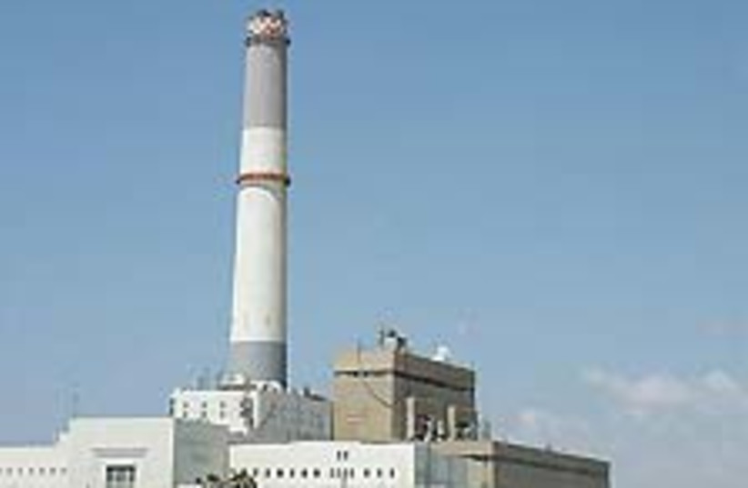 ta power station 88 224 (photo credit: Ariel Jerozolimski)