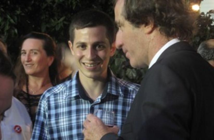Gilad Schalit at Bastille Day fete in Jaffa 370 (photo credit: GIL SHEFLER)