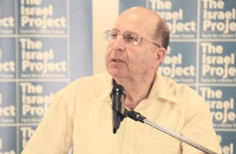 Strategic Affairs Minister Moshe Ya'alon 370 (photo credit: TOVAH LAZAROFF)