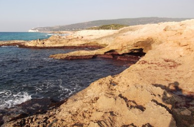 Achziv Beach (photo credit: Yitzhak Sasson)