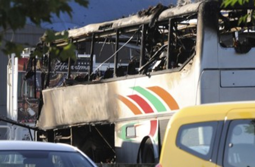 Bulgaria bus bomb 390 (photo credit: REUTERS)