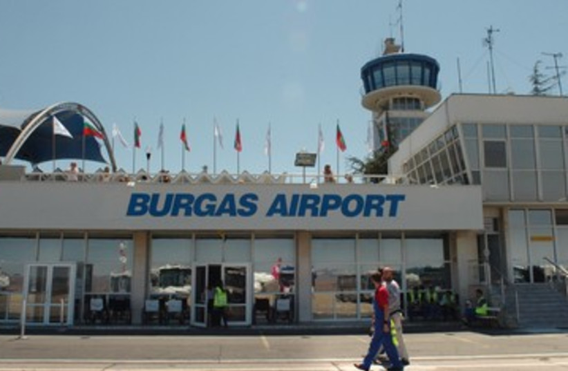 The Burgas Airport in Bulgaria 390 (photo credit: REUTERS)