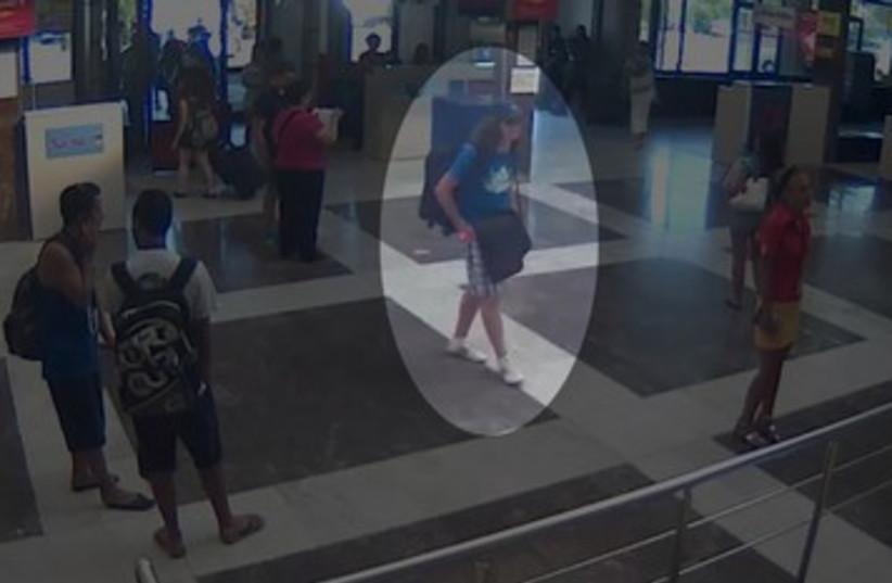 CCTV capture of suspected bomber 390 (photo credit: REUTERS)