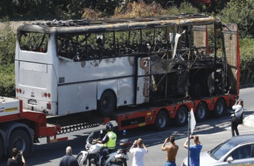 Bugras Bus Bomb (370) (photo credit: Stoyan Nenov/ Reuters)