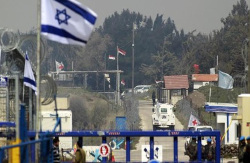 Golan Border (R370) (photo credit: REUTERS)