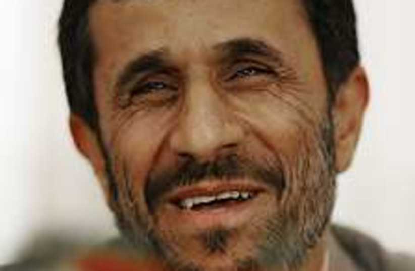 ahmadinejad 224.88 (photo credit: AP)