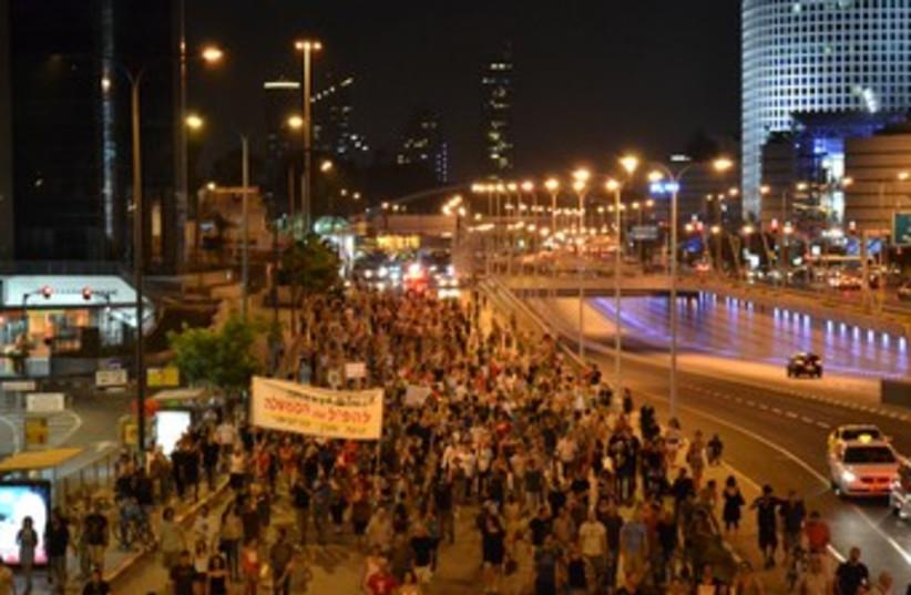 Social protests 370 (photo credit: Michael Omer-Man)