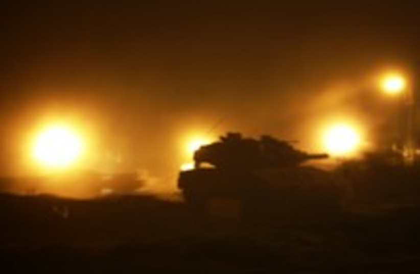 tank gaza fire 224 88 (photo credit: )