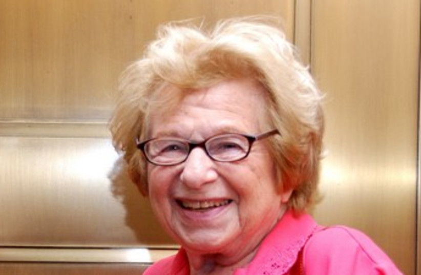 Dr. Ruth Westheimer 370 (photo credit: Maxine Dovere)