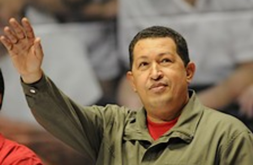 Chavez Nazi 224.88 (photo credit: AP)