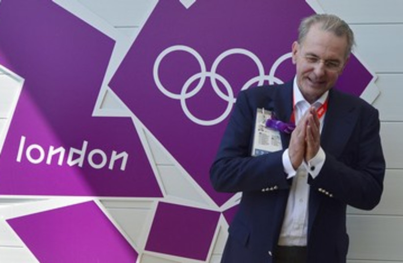 IOC President Jacques Rogge Olympics 390 (photo credit: Toby Melville / Reuters)
