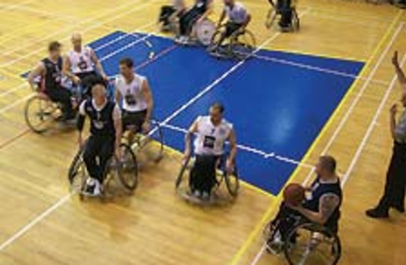 disabled b-ball 88 224 (photo credit: Megan Jacobs)