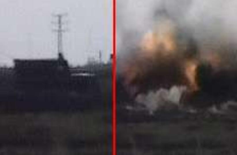 idf bomb 224.88 (photo credit: )