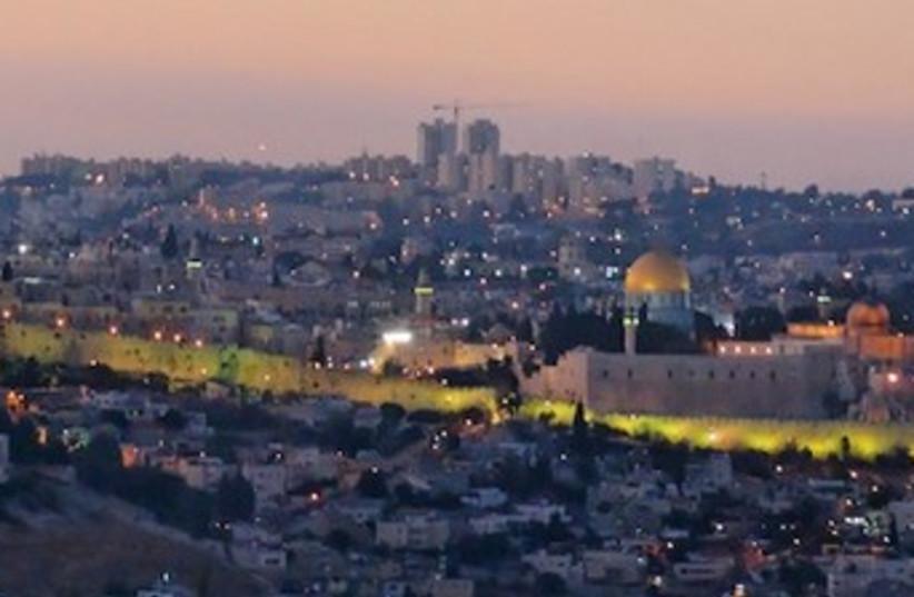Walls of Jerusalem 370 (photo credit: BiblePlaces.com)