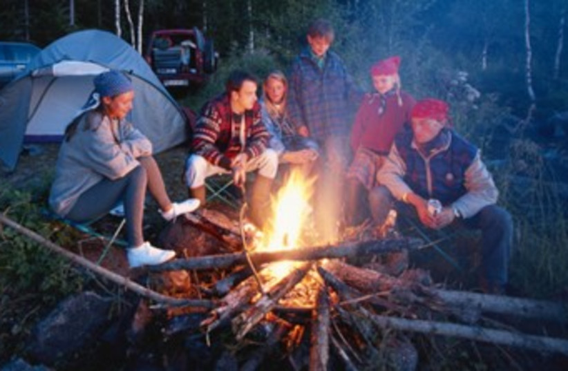 Children on summer camp 370 (photo credit: Thinkstock/Imagebank)
