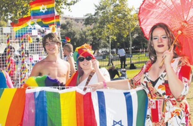 Jerusalem Gay Pride Parade (370) (photo credit: Marc Israel Sellem/The Jerusalem Post)