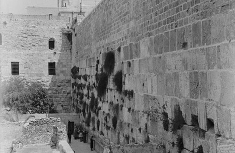 The Kotel (photo credit: American Colony-Jerusalem-Photo Dept.)
