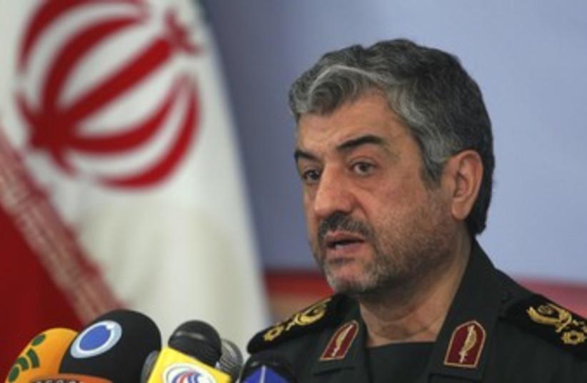 Mohammad Jafari 370 (photo credit: REUTERS/Stringer Iran)