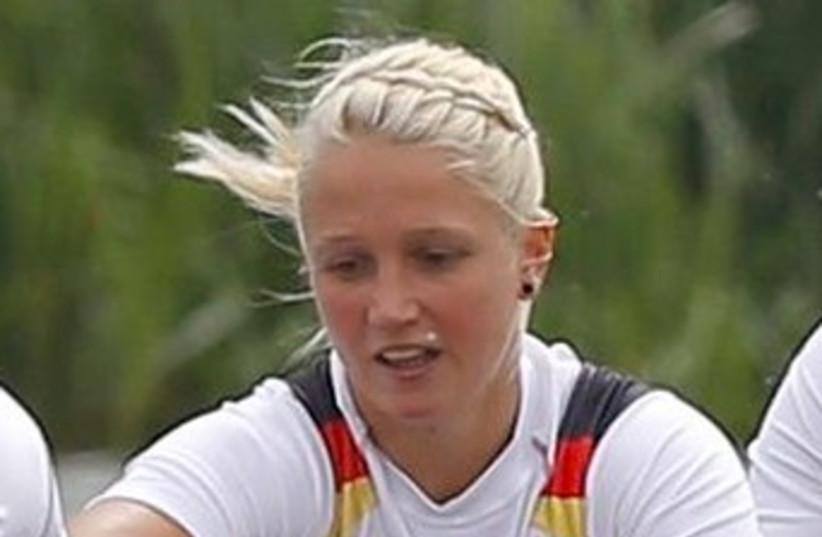 German rower Nadja Drygalla 370 (photo credit: REUTERS)