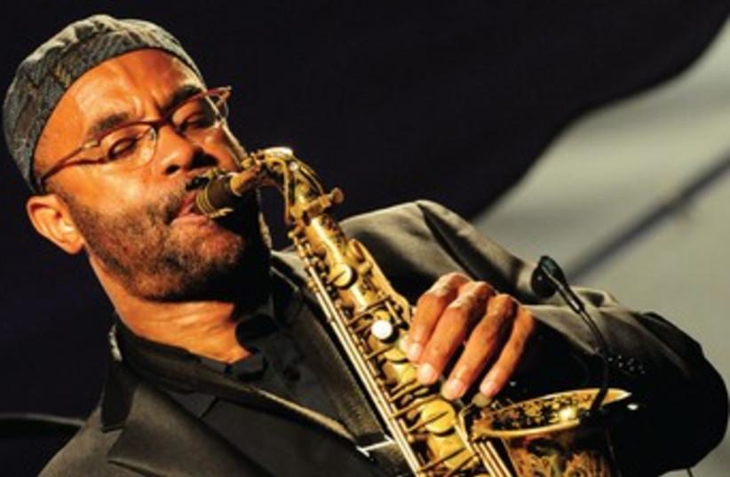 Kenny Garrett performs at Red Sea Jazz Festival, Eilat (370  (photo credit: Digi Deckel)