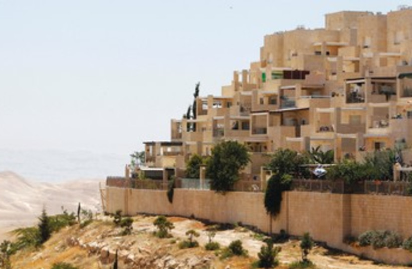 MA'ALEH ADUMIM 370 (photo credit: Reuters)