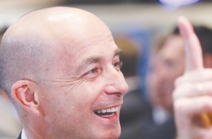 Teva CEO JEREMY LEVIN 370 (photo credit: Reuters)
