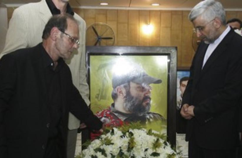 Jalili honors Mugniyeh in Beirut 370 (photo credit: reuters)