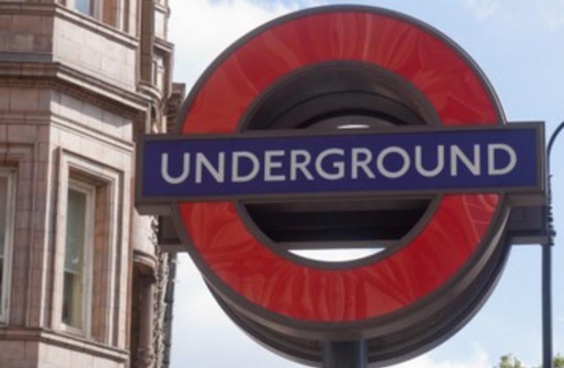 London tube subway underground 390 (photo credit: Thinkstock)