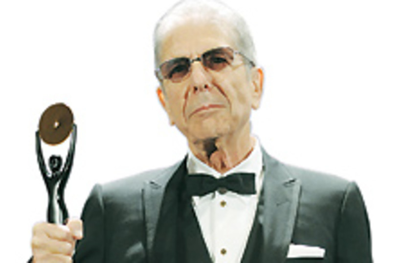 Leonard Cohen 88 224 (photo credit: )