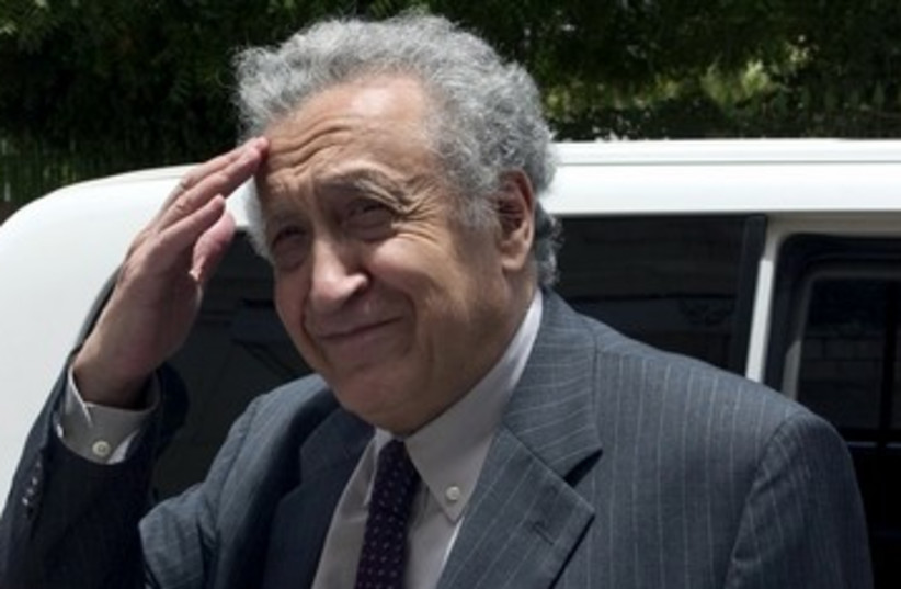 Diplomat Lakhdar Brahimi 390 (photo credit: REUTERS/Mohamed Nureldin Abdallah)