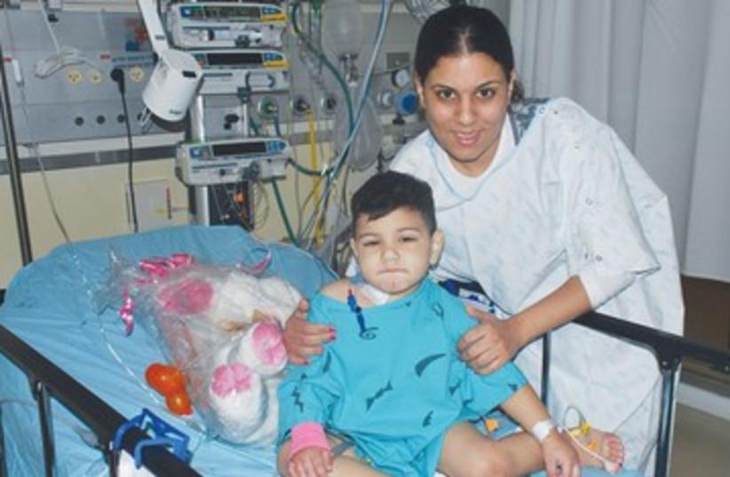 Transplant patient 390 (photo credit: Courtesy Schneider Children's Medical Center)