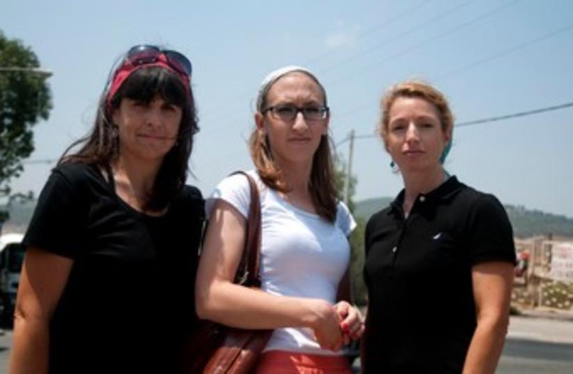 Beit Shemesh women against exclusion of women 370 (photo credit: Hadas Parush)